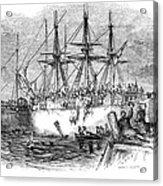 Boston Tea Party, 1773 Acrylic Print