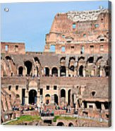 Colosseum In Rome Acrylic Print