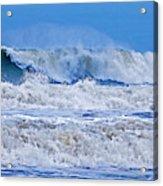 Hurricane Storm Waves Acrylic Print
