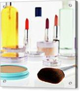 Still Life Of Beauty Products Acrylic Print
