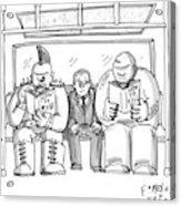 New Yorker April 20th, 2009 Acrylic Print