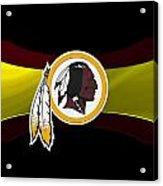 Washington Redskins Acrylic Print