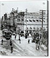 1900s Intersection Of Fair Oaks Acrylic Print