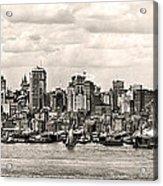 1906 Manhattan Panorama Acrylic Print