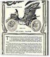 1907 - Columbia Victoria Phaeton Electric Automobile Advertisement Acrylic Print