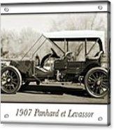 1907 Panhard Et Levassor Acrylic Print