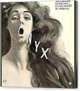 1909 - Onyx Hosiery Advertisement Acrylic Print