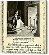1910 - Ivory Soap Christmas Proctor And Gamble Advertisement  Acrylic Print