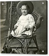 1910 American Tomboy Acrylic Print by Historic Image