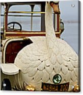 1910 Brooke Swan Car Acrylic Print