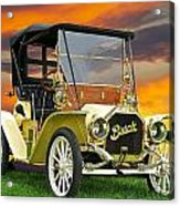 1910 Buick Roadster - Runabout Acrylic Print