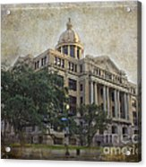 1910 Harris County Courthouse  Acrylic Print