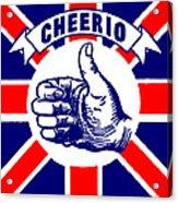 1910 Union Jack Cheerio Acrylic Print
