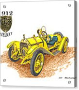 1911 1912 Mercer Raceabout R 35 Acrylic Print