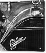 1911 Cadillac Roadster Grille And Hood Ornament Acrylic Print by Jill Reger