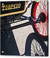 1911 Ford Model T Torpedo Grille Emblem Acrylic Print