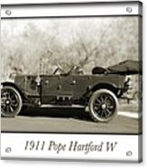1911 Pope Hartford W Acrylic Print