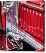 1912 Rolls-royce Silver Ghost Rothchild Et Fils Style Limousine Snake Horn -0711c Acrylic Print