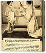 1913 - Proctor And Gamble - Ivory Soap Advertisement Acrylic Print