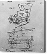 1914 Go Cart Patent Drawing Acrylic Print