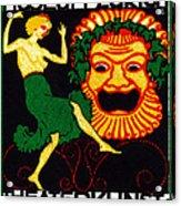 1914 Zurich Theater Arts Festival Acrylic Print