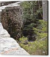 1917 Carriage Road Bridge Jordan Stream Acadia Maine Acrylic Print