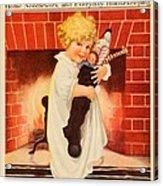 1917 - Modern Priscilla Magazine Cover - December Acrylic Print