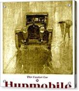 1918 - Hupmobile Automobile Advertisement - Color Acrylic Print
