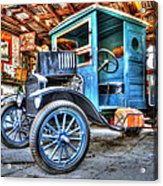 1919 Ford Model T Acrylic Print by Robert Jensen