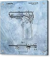 1920 Handgun Patent Acrylic Print
