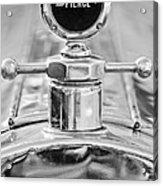 1920 Pierce-arrow Model 48 Coupe Hood Ornament - Motometer Acrylic Print