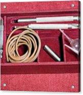 1920s Ophthalmology Instrument Acrylic Print