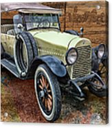 1921 Hudson-featured In Vehicle Enthusiasts And Comfortable Art And Photography And Textures Groups Acrylic Print