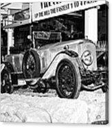 1921 Vauxhall 30/98e Acrylic Print