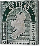 1922 Ireland Eire Stamp Acrylic Print