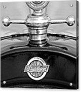 1922 Studebaker Touring Hood Ornament 3 Acrylic Print