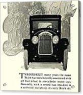 1924 - Buick Six Advertisement Acrylic Print