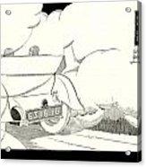1924 - Georges Irat La Voiture D'elite French Automobile Advertisement Acrylic Print