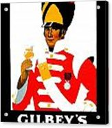 1924 - Gilbey Spey-royal Whisky Advertisement - Color Acrylic Print
