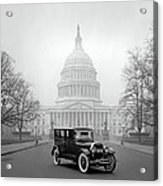 1924 Ford Lincoln At U. S. Capitol Acrylic Print