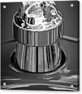 1924 Ford T Roadster Hood Ornament -331bw Acrylic Print