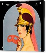 1924 - Theatre Magazine Cover - Color Acrylic Print