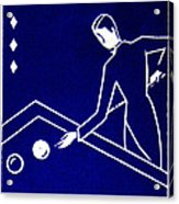 1925 Akatsuki Billiards Of Japan Acrylic Print