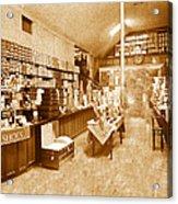 1925 Irish Shoe Store Acrylic Print