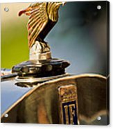1925 Isotta Fraschini Tipo 8a S Corsica Boattail Speedster Hood Ornament Acrylic Print by Jill Reger