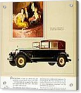 1926 - Packard Automobile Advertisement - Color Acrylic Print