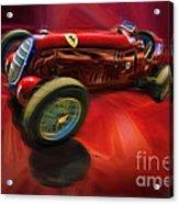 1926 Delage Grand Prix Car  Alfa-romeo  Acrylic Print