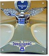 1926 Duesenberg Model A Boyce Motometer Acrylic Print