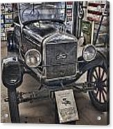 1926 Ford Model T Runabout Acrylic Print by Douglas Barnard