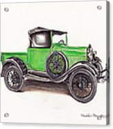 1926 Ford Truck Acrylic Print